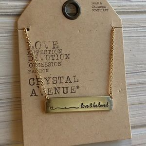 "Jewelry - ""Love and Be Loved"" Necklace"